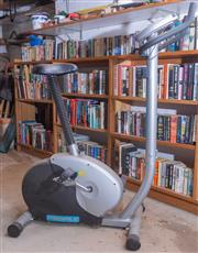 Sale 8550H - Lot 246 - A Profile exercise bike, H 125cm