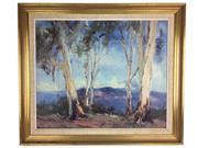 Sale 8607R - Lot 62 - Allan Hanson - Oil On Board (50 x 59cm)