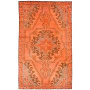 Sale 8761C - Lot 38 - A Vintage Turkish Overdye Carpet, Hand-knotted Wool, 214x124cm, RRP $1,800