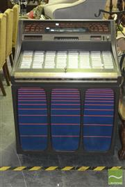 Sale 8323 - Lot 1100 - Vintage Rock-Ola Juke Box (working order with 45s, key in office)