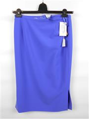 Sale 8514H - Lot 48 - Katharina V Braun Mid Blue Skirt - 66cm L, UK size 10