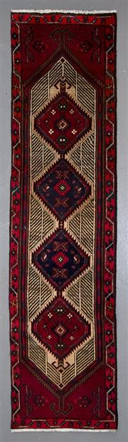 Sale 8545C - Lot 62 - Persian Shiraz Runner 303cm x 87cm