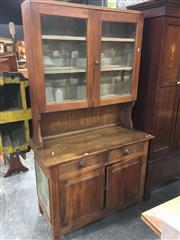 Sale 8740 - Lot 1524 - Pine Kitchen Dresser