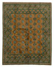 Sale 8800C - Lot 120 - An Afghan Tekke Hand Knotted Wool Rug, In A Hardy Weave Of Elephant Foot Design, 153 x 193cm