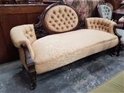 Sale 8831 - Lot 1051 - Victorian Mahogany Double Ended Settee