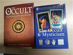 Sale 9180 - Lot 2031 - 2 Volumes: Geddes & Grosset Guide to the Occult & Mysticism; Drury, N. & Tillett, G. The Occult a sourcebook of esoteric wisdom