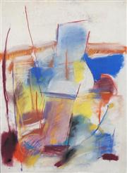 Sale 8466A - Lot 5032 - Anne Hall (1946 - ) (3 works) - Abstract Studies 101 x 70cm, each (sheet size)