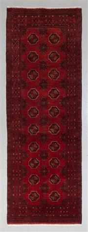 Sale 8545C - Lot 63 - Afghan Turkman 298cm x 82cm