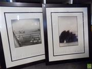Sale 8561 - Lot 2094 - 2 photographic prints, Sydney Australia, 85 x 73cm (frame size), unsigned
