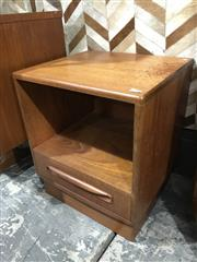Sale 9039 - Lot 1034 - G-Plan Teak Bedside Locker (H54 x W46 x D41cm)