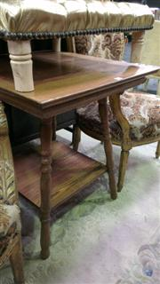 Sale 7944A - Lot 1017 - Oak Tiered Occasional Table