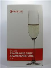 Sale 8263A - Lot 52 - 12x Spiegelau Salute Champagne Flutes - new in box