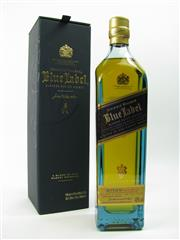 Sale 8329 - Lot 546 - 1x Johnnie Walker Blue Label Blended Scotch Whisky - 200ml in box