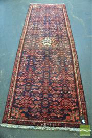 Sale 8406 - Lot 1113 - Persian Moud Runner (275 x 95cm)