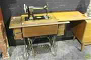 Sale 8499 - Lot 1004 - Treadle Based Sewing Machine