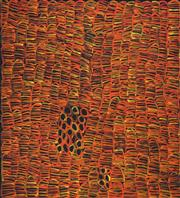 Sale 8538 - Lot 576 - Betty Mbitjana (1955 - ) - Bush Melon (Awelye) 99 x 90cm