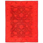 Sale 8761C - Lot 41 - A Vintage Turkish Overdye Carpet, Hand-knotted Wool, 253x199cm, RRP $3,275