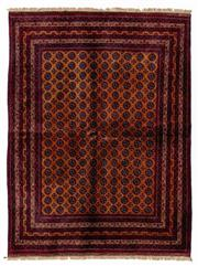 Sale 8800C - Lot 122 - An Afghan Mori Gul Finely Woven And Hand Knotted Tribal Wool Rug, 147 x 200cm