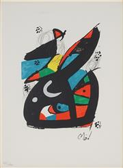 Sale 8907 - Lot 587 - Joan Miro (1893 - 1983) - La Melodie Acide, 1980 32 x 24 cm