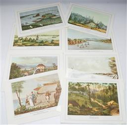 Sale 9164 - Lot 271 - A Series of Twelve Early Australian Prints Illustrating The First 50 Years Of Australias History