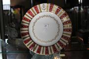 Sale 7982 - Lot 28 - Limoges Hand Painted Cabinet Plate