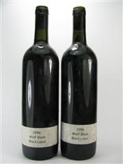 Sale 8238B - Lot 48 - 2x 1996 Wolf Blass Black Label Cabernet Shiraz, South Australia
