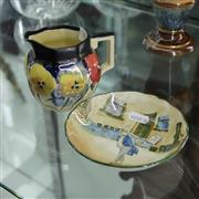 Sale 8336 - Lot 63 - Royal Doulton Mr Pickwick Plate & a Milk Jug