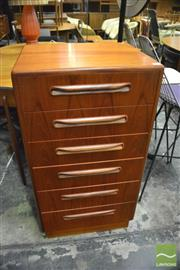 Sale 8350 - Lot 1074 - G-Plan Teak Tallboy Chest