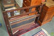 Sale 8392 - Lot 1079 - Indian King Single Rosewood Tester Bed
