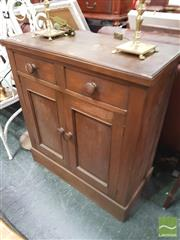 Sale 8455 - Lot 1074 - Small Timber Sideboard