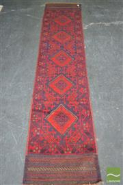 Sale 8515 - Lot 1014 - Persian Balouch Runner (270 x 60cm)