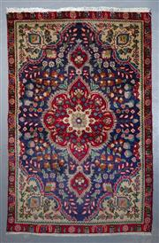 Sale 8545C - Lot 65 - Persian Kashan 143cm x 90cm