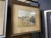 Sale 8914 - Lot 2064 - Winifred Caddy - Country Scene, watercolour, 25 x 31cm, signed lower right