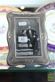Sale 8217 - Lot 61 - English Hallmarked Sterling Silver Picture Frame