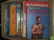 Sale 8548 - Lot 2323 - Box of Childrens Books incl. An Animal Story Book; Barrier Reef Annual 1972; Disneys Rob Roy the Highland Rogue; etc