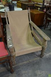Sale 8566 - Lot 1639 - Vintage Timber Squatters Chair