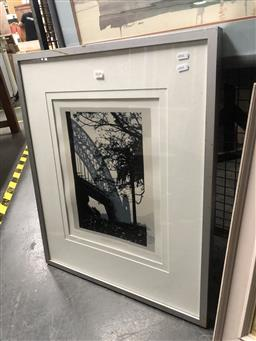 Sale 9147 - Lot 2029 - David Miles, Sydney Harbour, limited edition screenprint, frame: 73 x 61 cm, signed lower right
