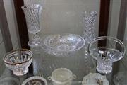 Sale 7977 - Lot 100 - Collection of Crystal Bowls, Vases and Basket incl Stuart