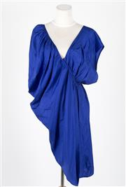 Sale 8541A - Lot 6 - A Ginger & Smart lightening blue silk dress, size 8
