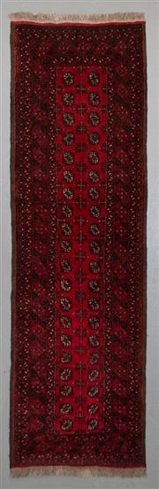 Sale 8545C - Lot 67 - Afghan Turkman Runner 293cm x 82cm