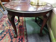 Sale 8570 - Lot 1096 - Carved Timber Side Table