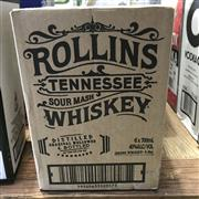 Sale 8801W - Lot 43 - 6x Rollins Tennessee Whiskey, 700ml
