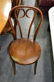 Sale 8115 - Lot 1275 - Set of 4 Thonet Style Chairs by YMJ