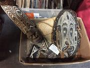Sale 8659 - Lot 2220 - Group of Tribal Items incl Mask from Sepik River