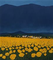 Sale 8693A - Lot 5071 - Phil Greenwood - Red Doors 59 x 67cm