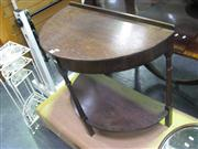 Sale 7933A - Lot 1124 - Demilune Hall Table