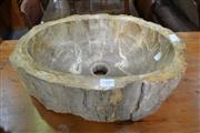Sale 8115 - Lot 1489 - Petrified Wood Basin
