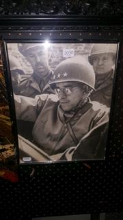 Sale 8433 - Lot 2050 - Original Photograph of General Omar Nelson Bradley (USA Army)