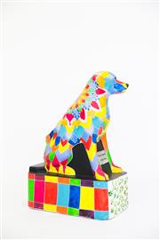 Sale 8479G - Lot 16 - Petes Place. The artist of this dog is called Brandon, he is a Year Eight pupil at Petes Place School. Brandon loves to draw and...