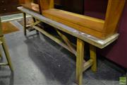 Sale 8499 - Lot 1632 - Timber Bench